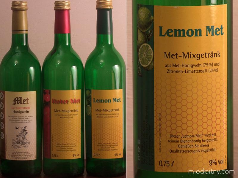 Czwórniak Lemon Met-Mixgetrank