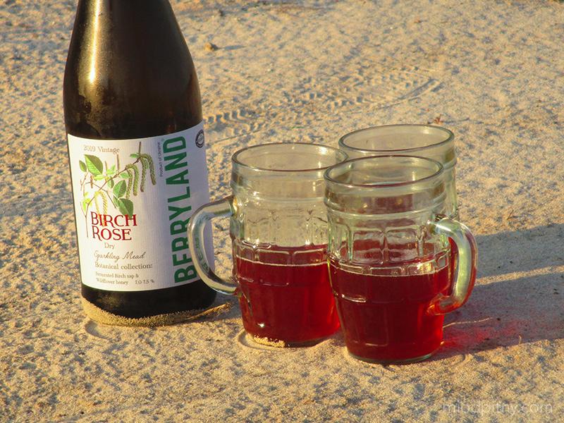 Birch Sap Sparkling Mead Rose 2019 Vintage - miód pitny brzozowy z sokiem z czarnej porzeczki musujący