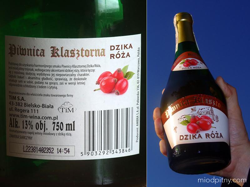 Trójniak Piwnica Klasztorna - dzika róża