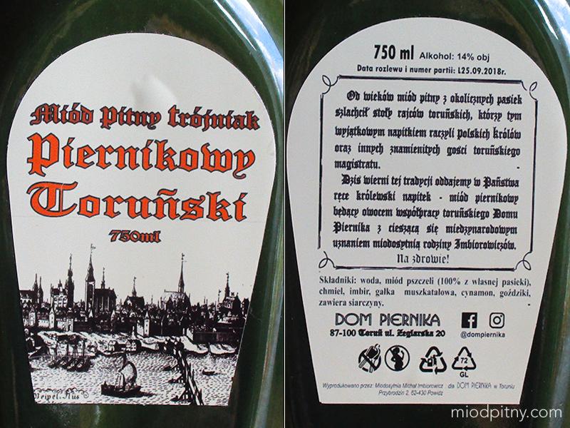 Trójniak Piernikowy Toruński